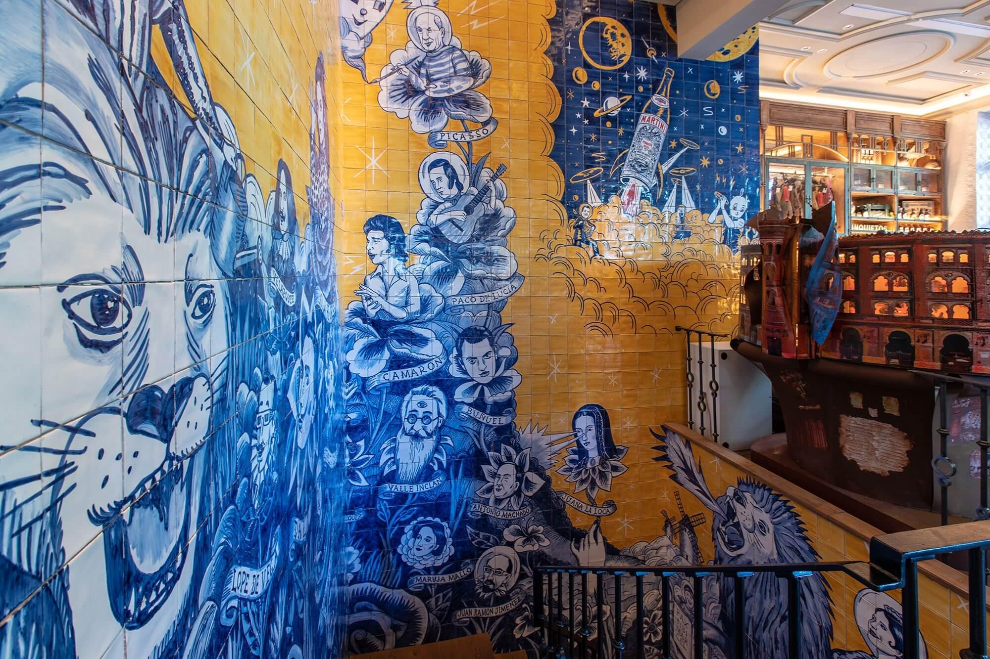 Especialistas en murales ceramicos - Azulejos Artesanales