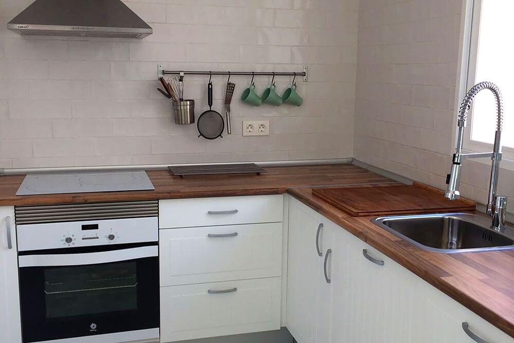 cocina previa - Reformas de Cocinas