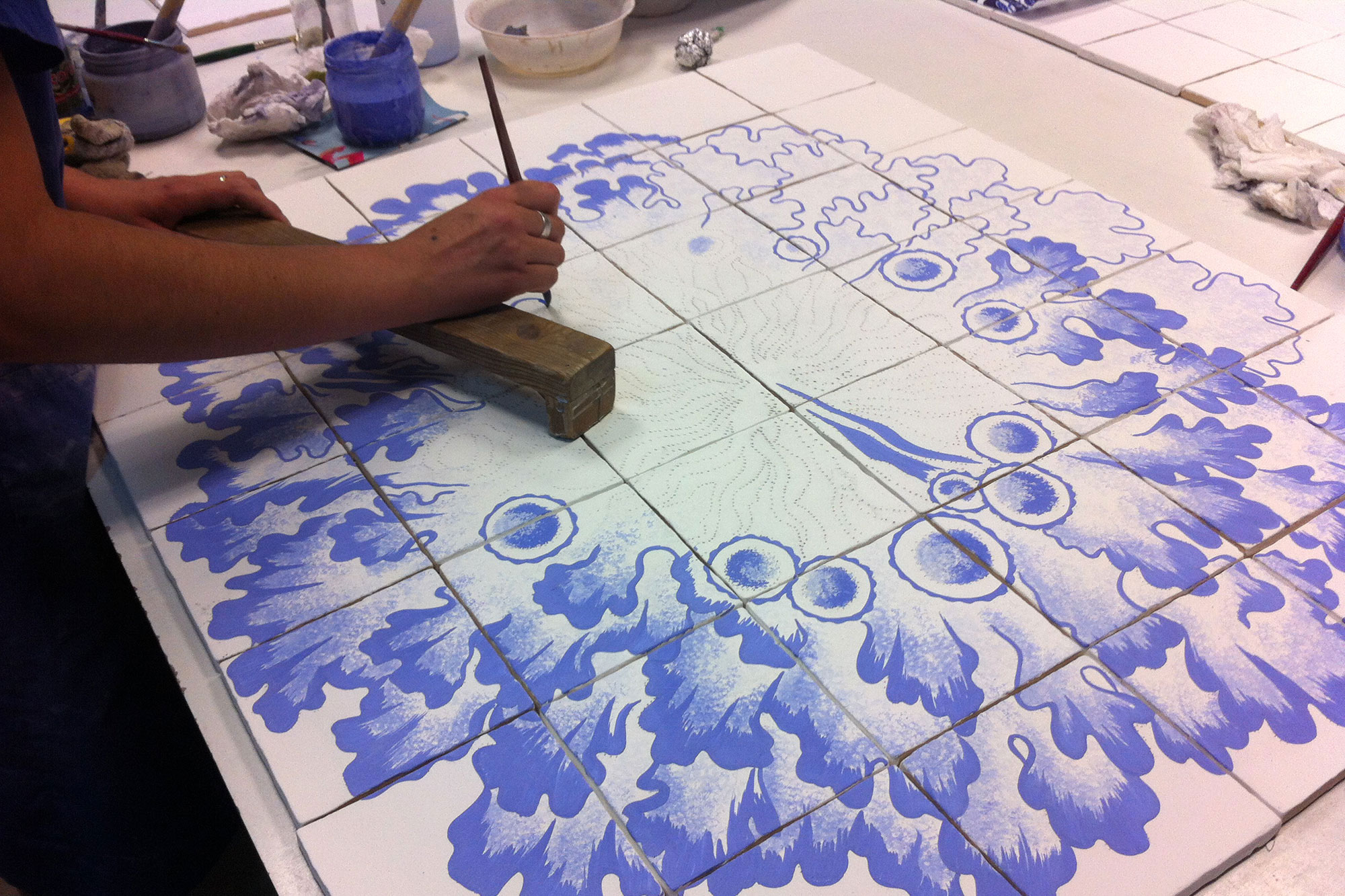 murales cermicos detalles - Murales Cerámicos