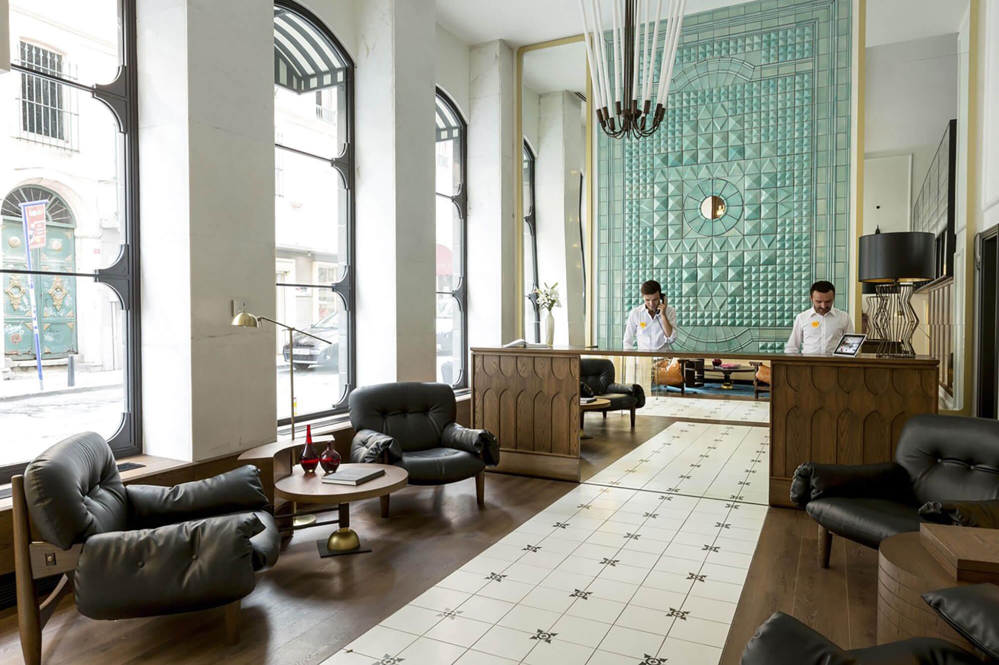 reformas hoteles entrada - Reformas de Salones