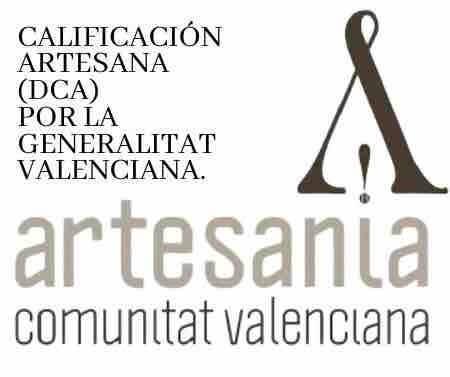Calificacion Artesana Generalitat - Empresa